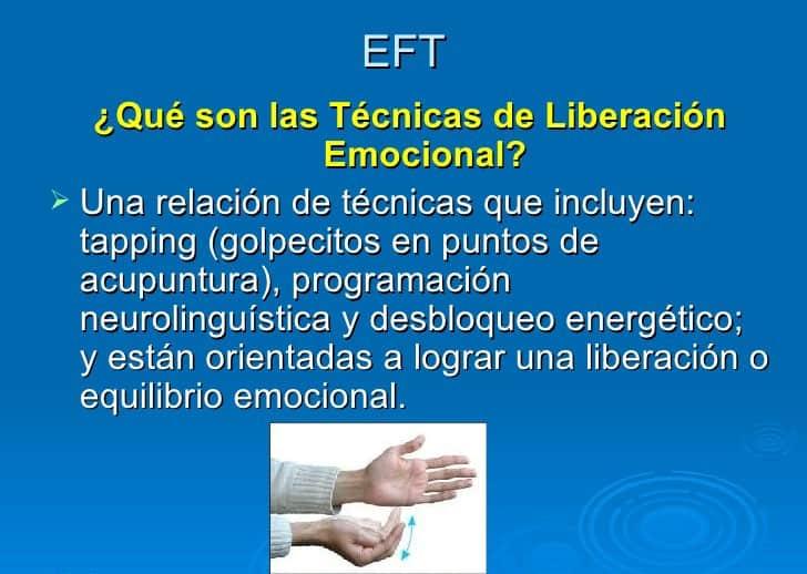 E.F.T. que son las técnicas